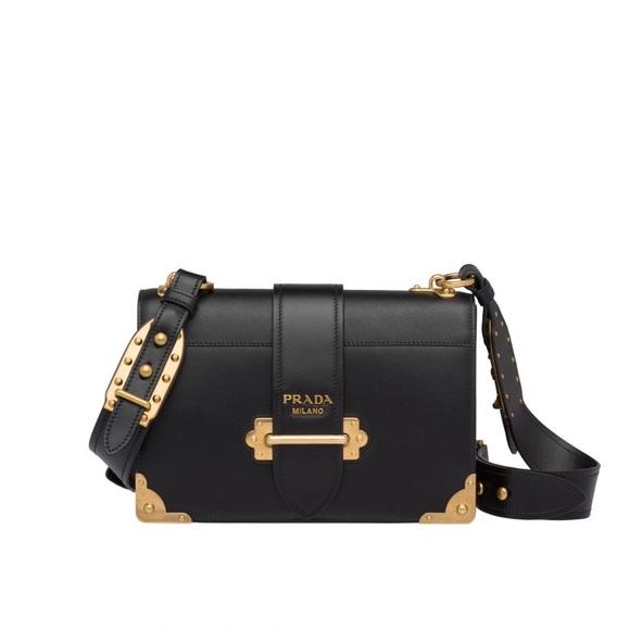 e58c9e42f5d1 Prada Cahier Large leather bag. M 5c40ed292e1478258ee59b7c